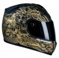 Мотошлем Marushin 888 Rs Shivan2 Gold/Black
